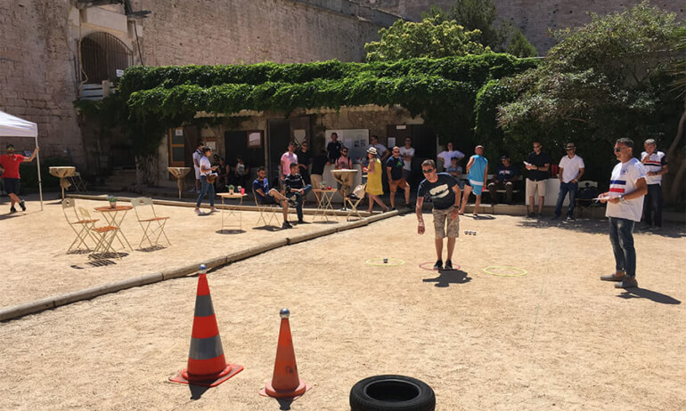 Image The petanque championship