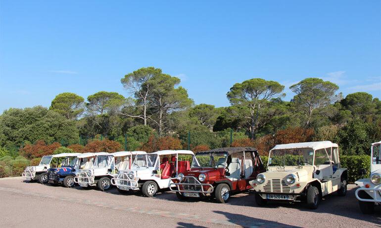Image Rallye en Mini Moke St-Tropez