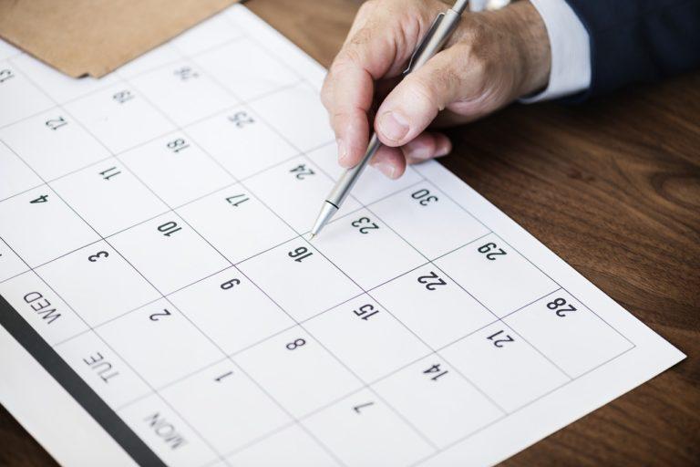 trouver la bonne date pour organiser la soirée d'entreprise